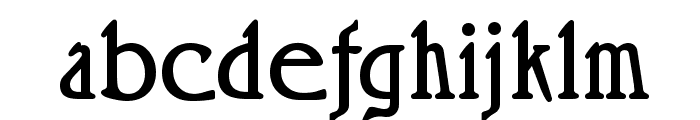 Roskell Font LOWERCASE