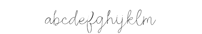 Rosse DEMO Regular Font LOWERCASE