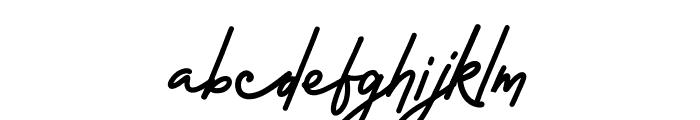 Rossela Signature Font Demo Font LOWERCASE