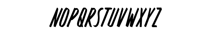 Rosterica Font UPPERCASE
