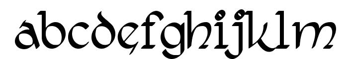 RostockKaligraph Font LOWERCASE