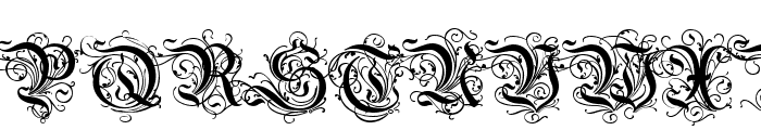 Rothenburg Decorative Font UPPERCASE