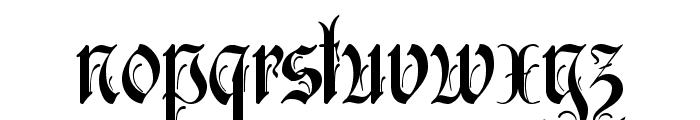 Rothenburg Decorative Font LOWERCASE