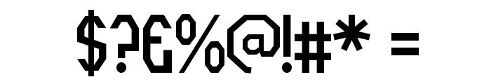 RothwellArmy-Regular Font OTHER CHARS
