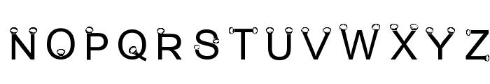 Rotlichtlampe-Regular Font UPPERCASE