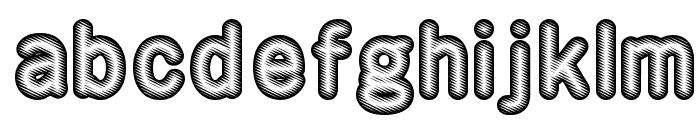 Rotondo   Silver Font LOWERCASE