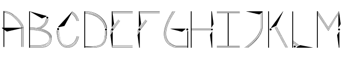 Rotor Font UPPERCASE