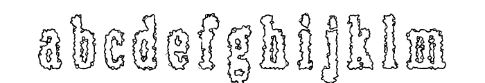 Rottapuisto Font LOWERCASE