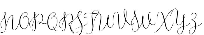 RottarityFeminine Font UPPERCASE