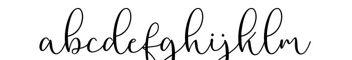 RottarityFeminine Font LOWERCASE