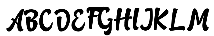 Rotterin Demo Regular Font UPPERCASE