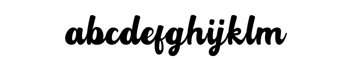 Rotterin Demo Regular Font LOWERCASE