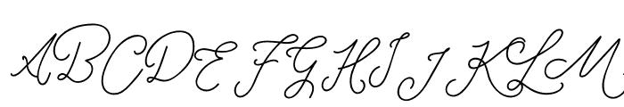 RottersRegular Font UPPERCASE