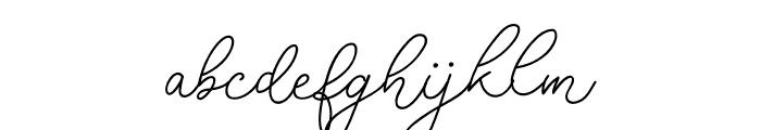RottersRegular Font LOWERCASE