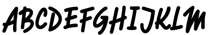 RotulonaHand Font UPPERCASE