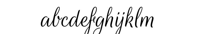 RougeScript-Regular Font LOWERCASE