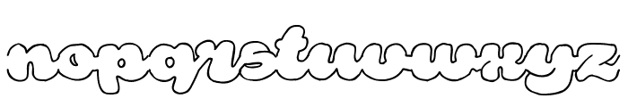 Rough Rakoon Out PERSONAL USE Font LOWERCASE