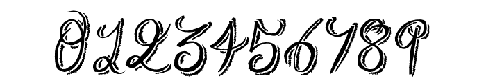 Rough Script Font OTHER CHARS