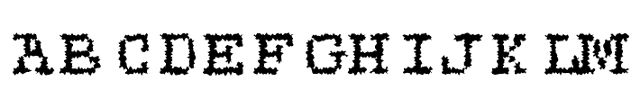 Roughie-Light Font UPPERCASE