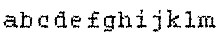 Roughie-Light Font LOWERCASE