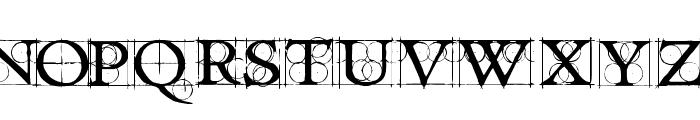 Roughwork Demo Font UPPERCASE