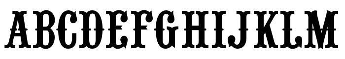 RouletteCapsOpti Font UPPERCASE