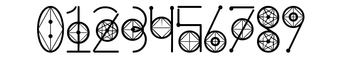 Round Geometric Font OTHER CHARS