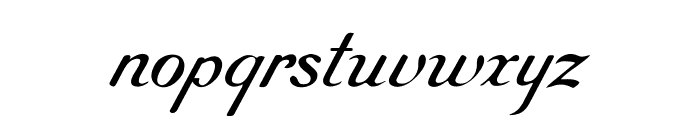 RoundHand Free Font LOWERCASE