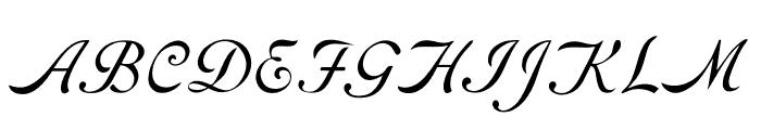 RoundHandFree Font UPPERCASE