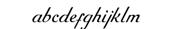 RoundHandFree Font LOWERCASE