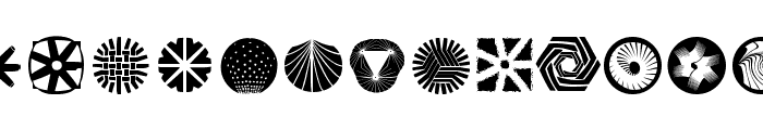 RoundMarks Font LOWERCASE