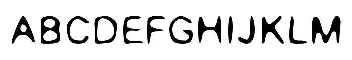 Rounded Genius Font LOWERCASE