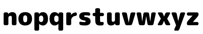 Rounded Mplus 1c Black Font LOWERCASE
