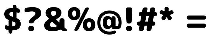 Rounded Mplus 1c ExtraBold Font OTHER CHARS
