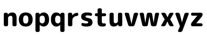 Rounded Mplus 1c ExtraBold Font LOWERCASE