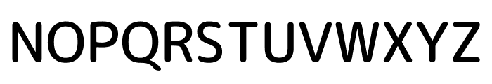 Rounded Mplus 1c Medium Font UPPERCASE