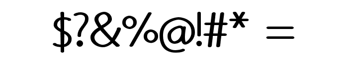 Rounded Vale Font OTHER CHARS