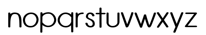 Rounded Vale Font LOWERCASE