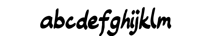 Roundling Font LOWERCASE