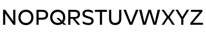 Roundo Medium Font UPPERCASE