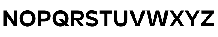Roundo SemiBold Font UPPERCASE
