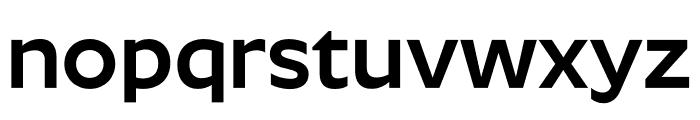 Roundo SemiBold Font LOWERCASE