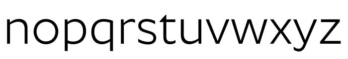 Roundo Font LOWERCASE
