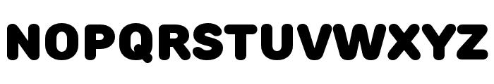 RoundsBlack Font LOWERCASE