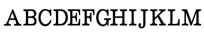 RoundslabSerif Font UPPERCASE