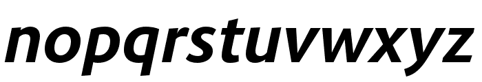 Route 159 Bold Italic Font LOWERCASE