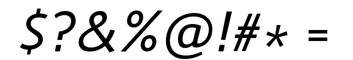 Route 159 Italic Font OTHER CHARS