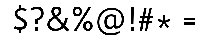 Route159-Regular Font OTHER CHARS