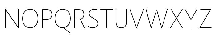 Route159-UltraLight Font UPPERCASE