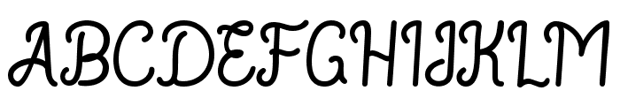 RouterlineFreeVersion Font UPPERCASE